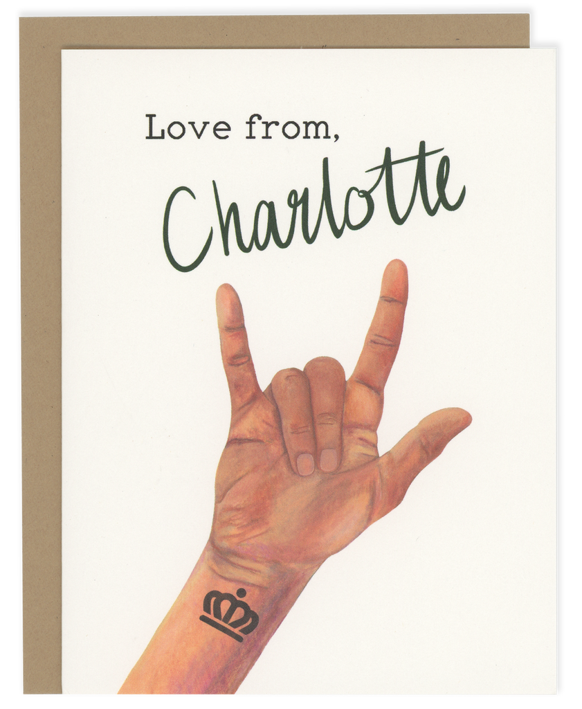 Love from, Charlotte