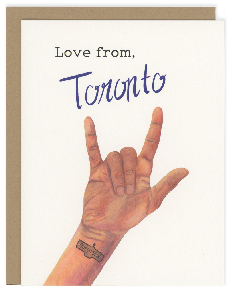 Love from, Toronto