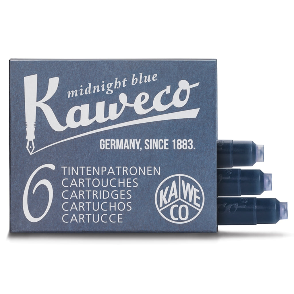 Kaweco Fountain Pen Ink Refills 6-Pack