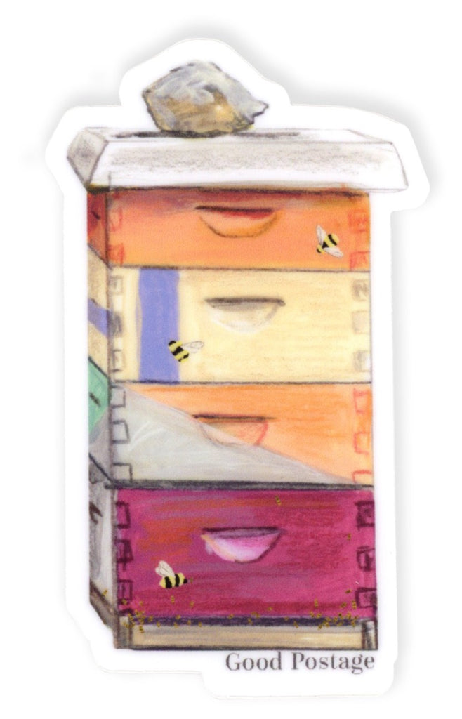 Bee Box Sticker