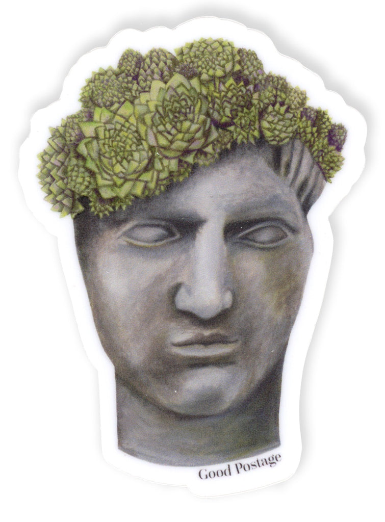 Head Planter Sticker