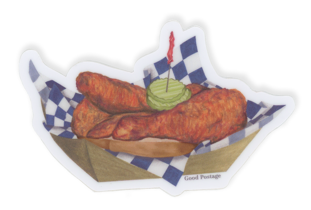Nashville Hot Chicken Sticker