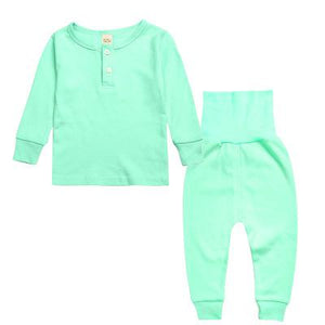 Spark Sisters Henley Pyjama Set Mint Children affordable clothing