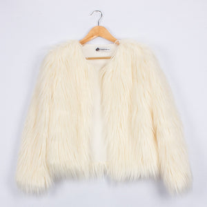 Uh Huh Bunny Fur Jacket