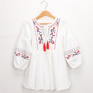 Indiana  Embroidery Dress