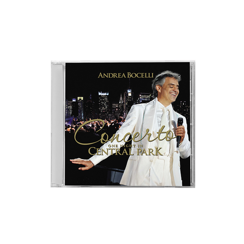 Concerto One Night In Central Park CD