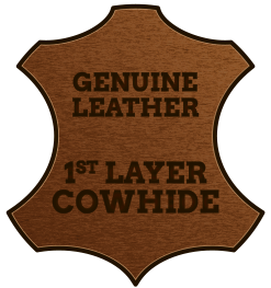icon genuine leather
