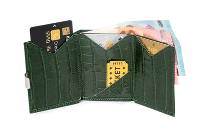 WALLET - Caiman Green