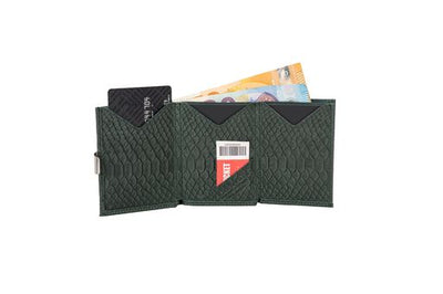 WALLET - Green Cobra