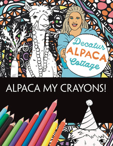 Alpaca My Crayons Coloring Book