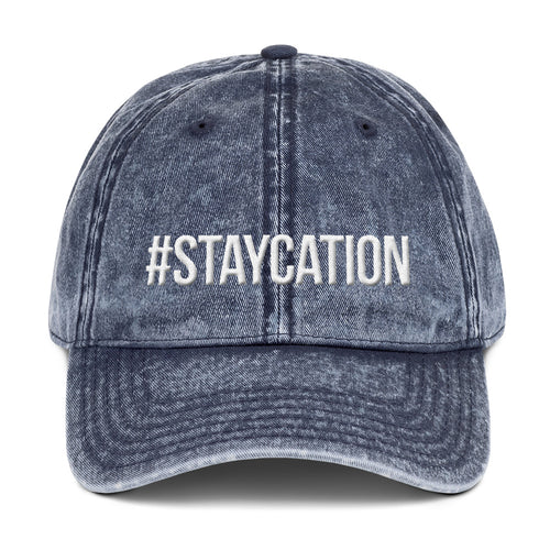 #Staycation ~ Cap