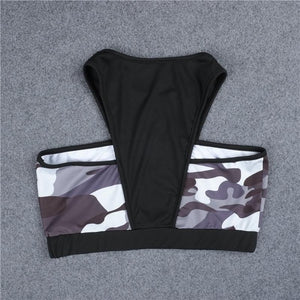 ARMY GIRL Gym Top and Mid Rise Leggings