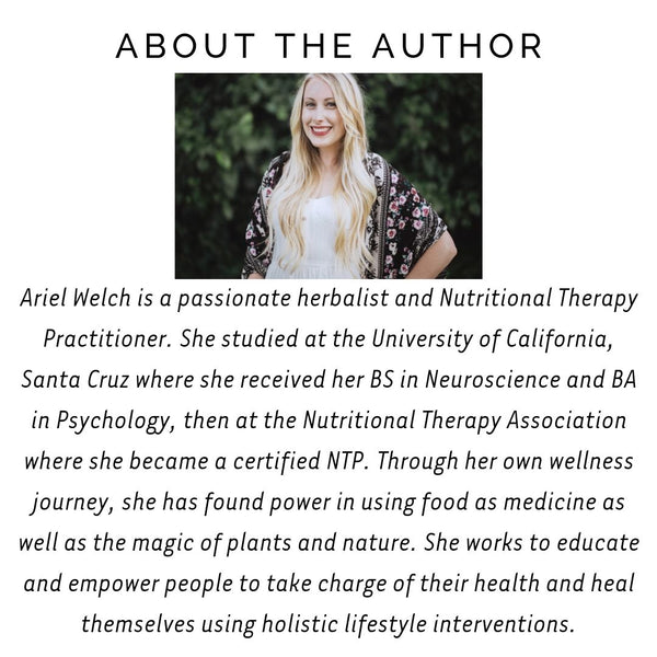 about the author Ariel Welch