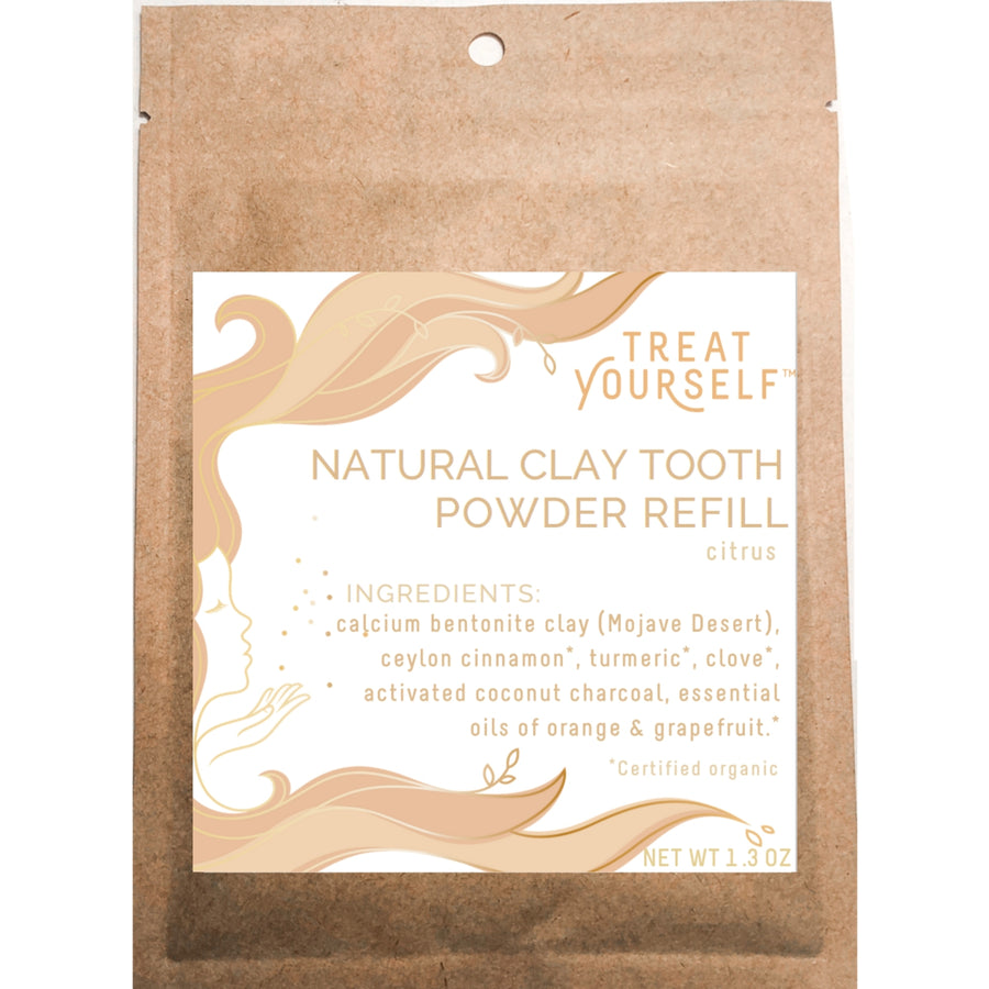 Tooth Powder Refill Packet