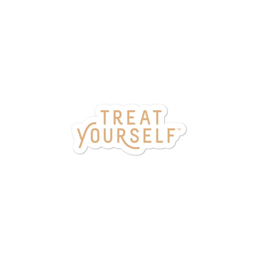 Treat Yourself sticker