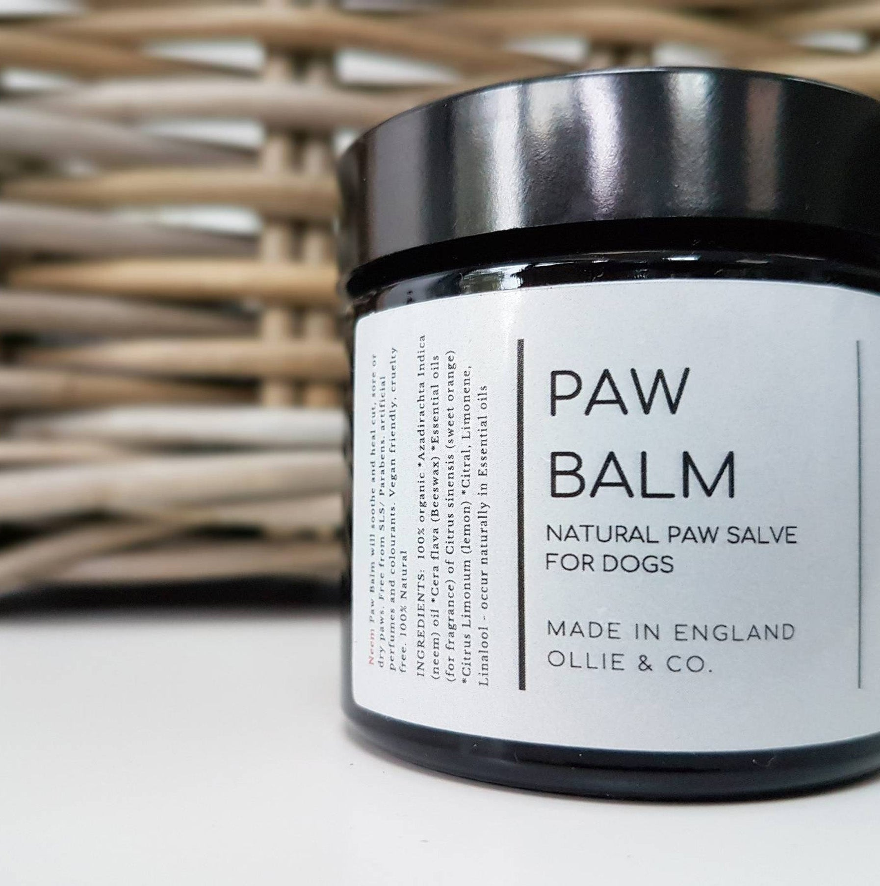 Ollie & Co Natural Dog Paw Balm