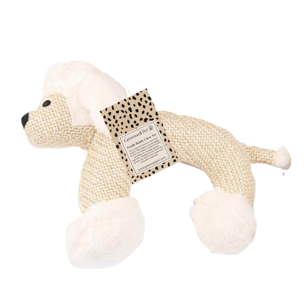 Greenwell Pet Poodle Buddy Chew Toy