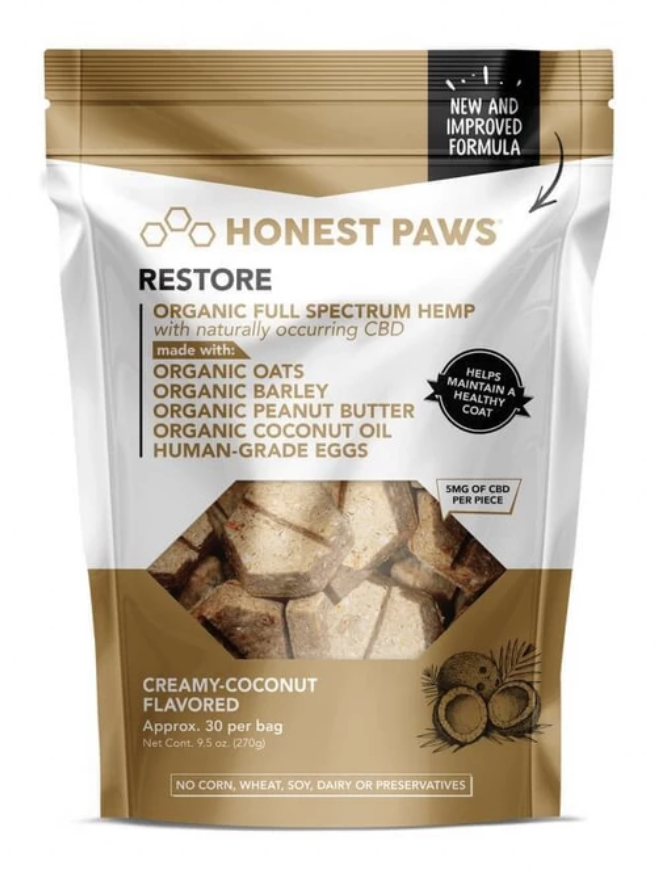 Honest Paws- Creamy Coconut Flavored Dog Treats