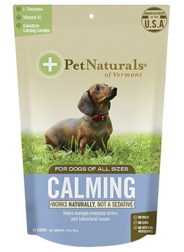 Pet Naturals Calming Chew for Dogs