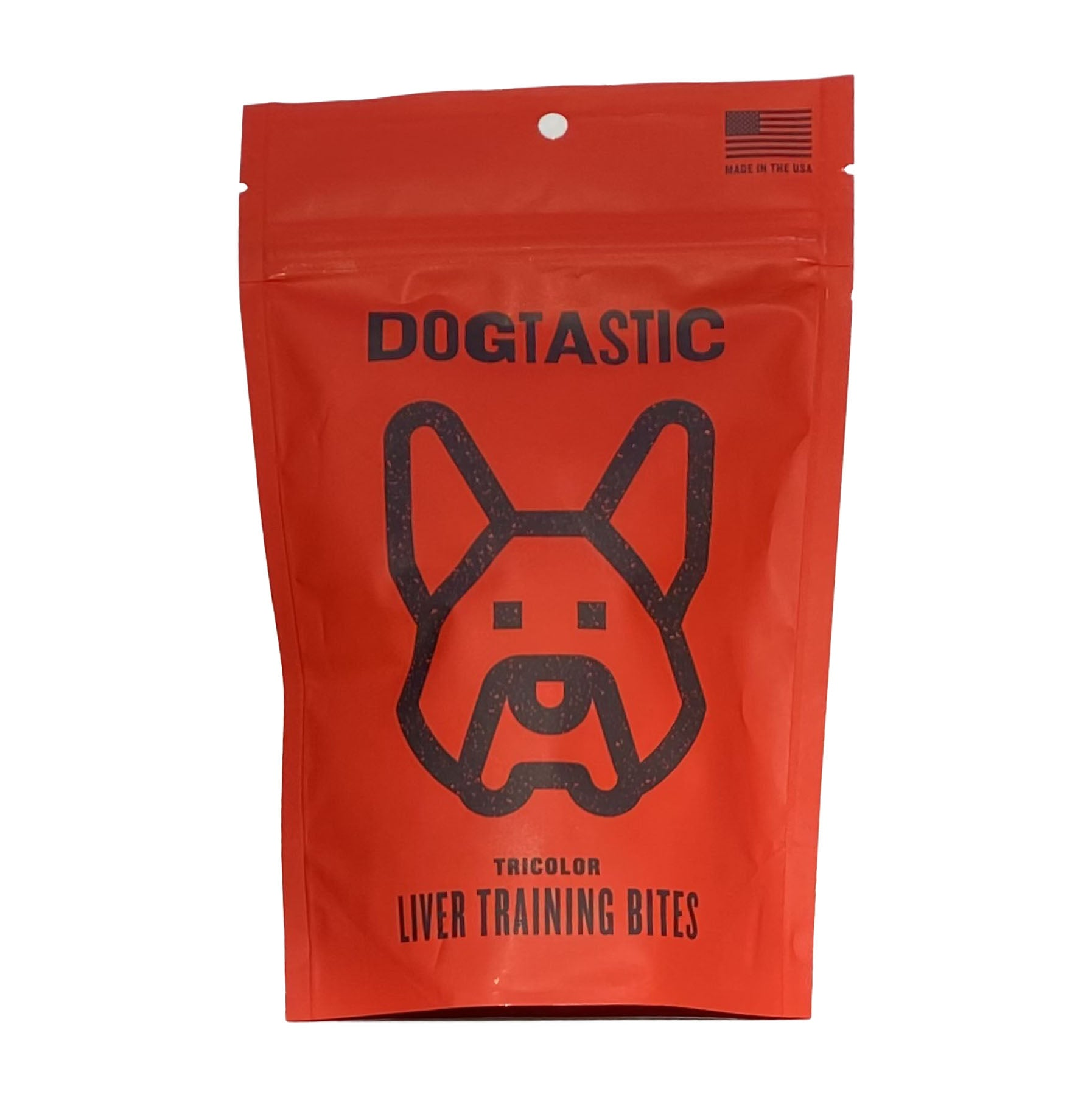 SodaPup Dogtastic Tricolored Liver Training Bites