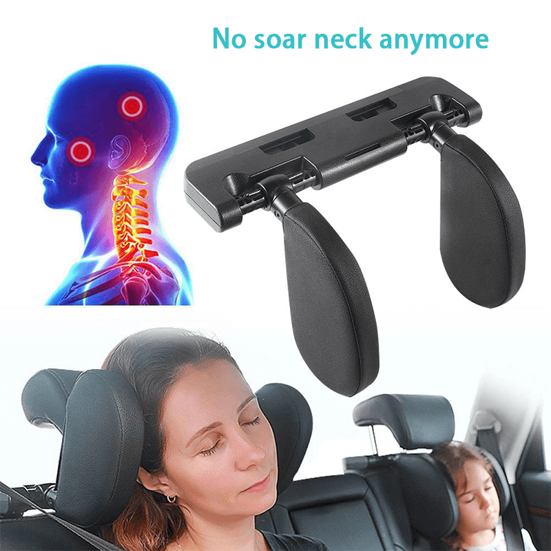 Car Headrest Neck Support Sleeping Cushion for Both Kids and Adults