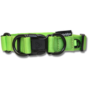 Open image in slideshow, Double Ring Nylon Dog Collar - Premium