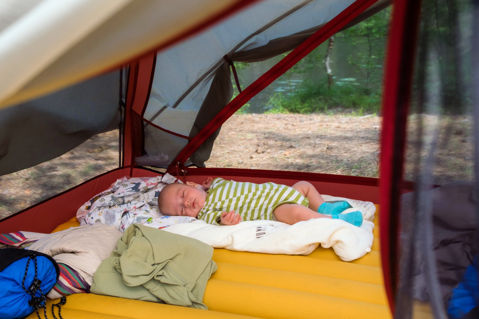 How to Camp with Babies & Toddlers - A Survival Guide