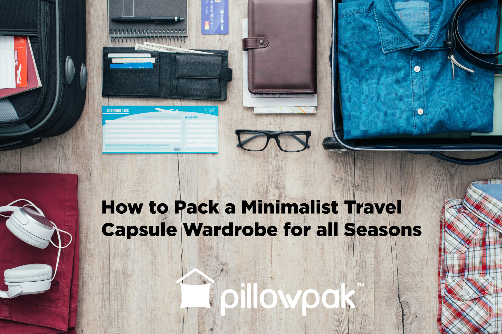 How to Pack a Minimalist Travel Capsule Wardrobe for all Seasons