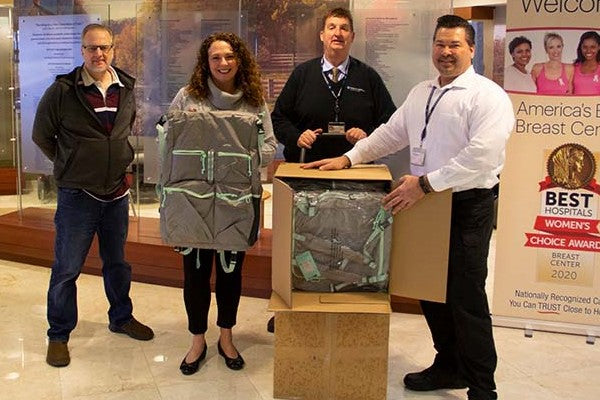 Pillowpak Donates Go Bags to Frontline Hospital Workers