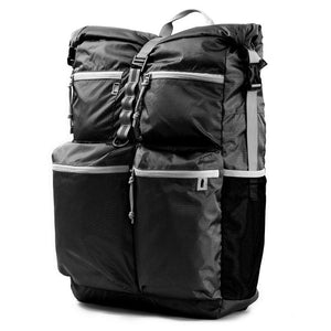 Pillowpak Bag in Jet Black with Cool Gray Trim