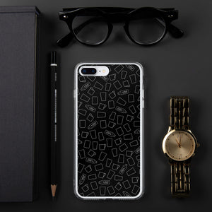 "Iphone Cover Black ""t-shot"" - t-shot Milano"