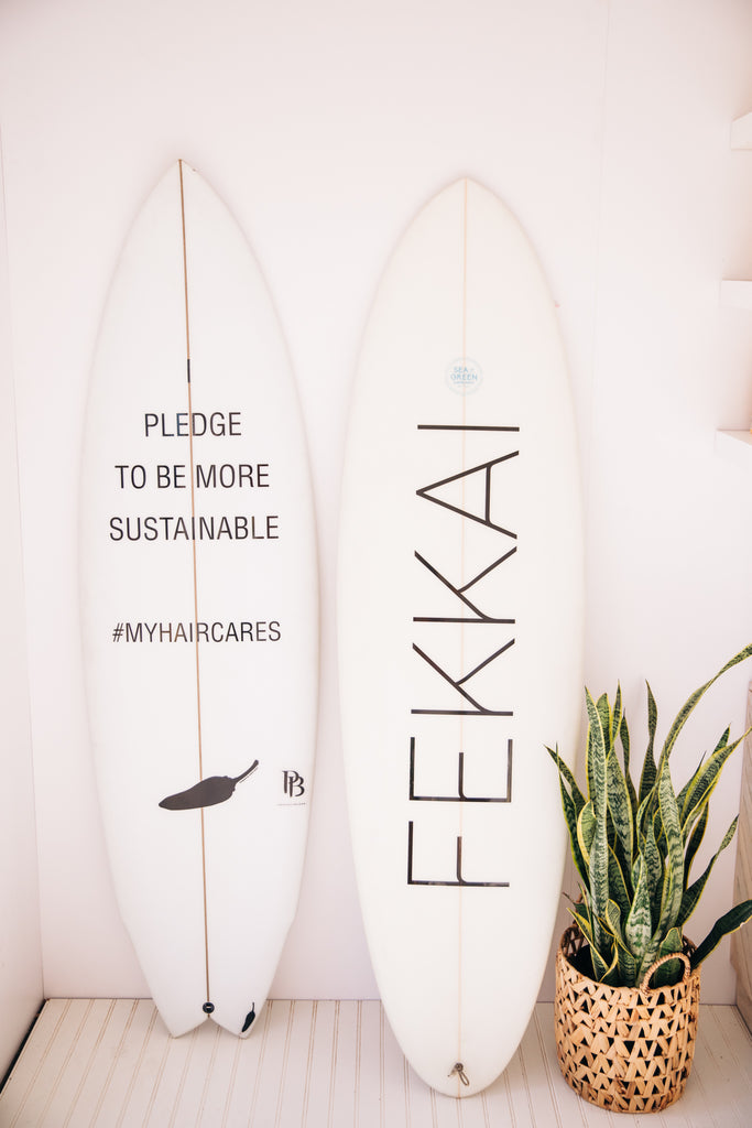 FEKKAI Takes Santa Monica Pier Decor