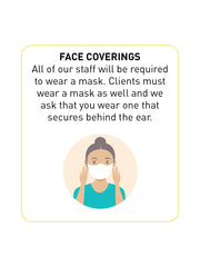 face coverings message