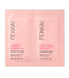 pink fekkai technician color shampoo and conditioner sample packet front