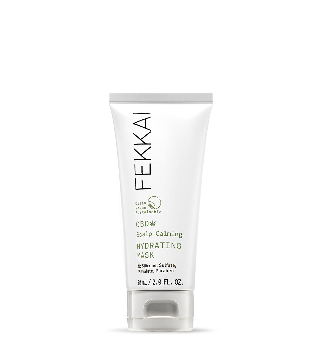Bottle of Fekkai CBD Scalp Calming Hydrating Mask Travel Size