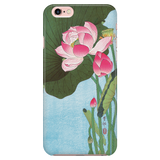 Floral Phone Case - Flowering Lotus Ohara Koson Ukiyo-e - iPhone, Galaxy