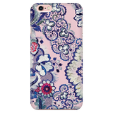 Vintage Floral Phone Case for iPhone and Samsung Galaxy - Indigo Blush