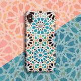 Alhambra Nasrid - Cute Azulejo Phone Case for iPhone X/XS