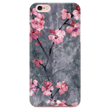 Cherry Blossom Slate - Elegant Cute Phone Case for iPhone and Samsung