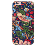 William Morris Strawberry Thief - Vintage Art Phone Case for iPhone,