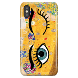 Kiss & Wink - Cute Art Phone Case for iPhone X/XS
