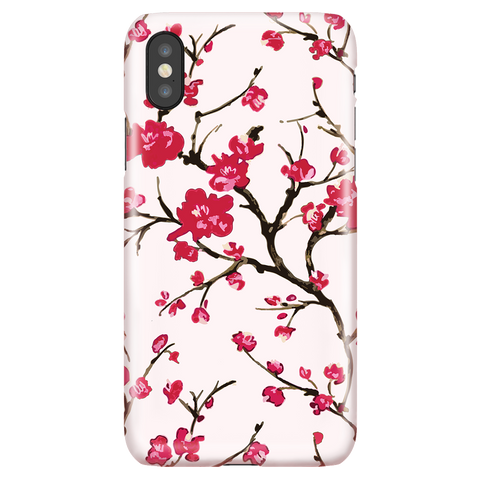 Cherry Blossom Floral iPhone X/XS Case