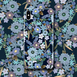 Cute Floral Phone Case iPhone X/XS - Jardin Bleu