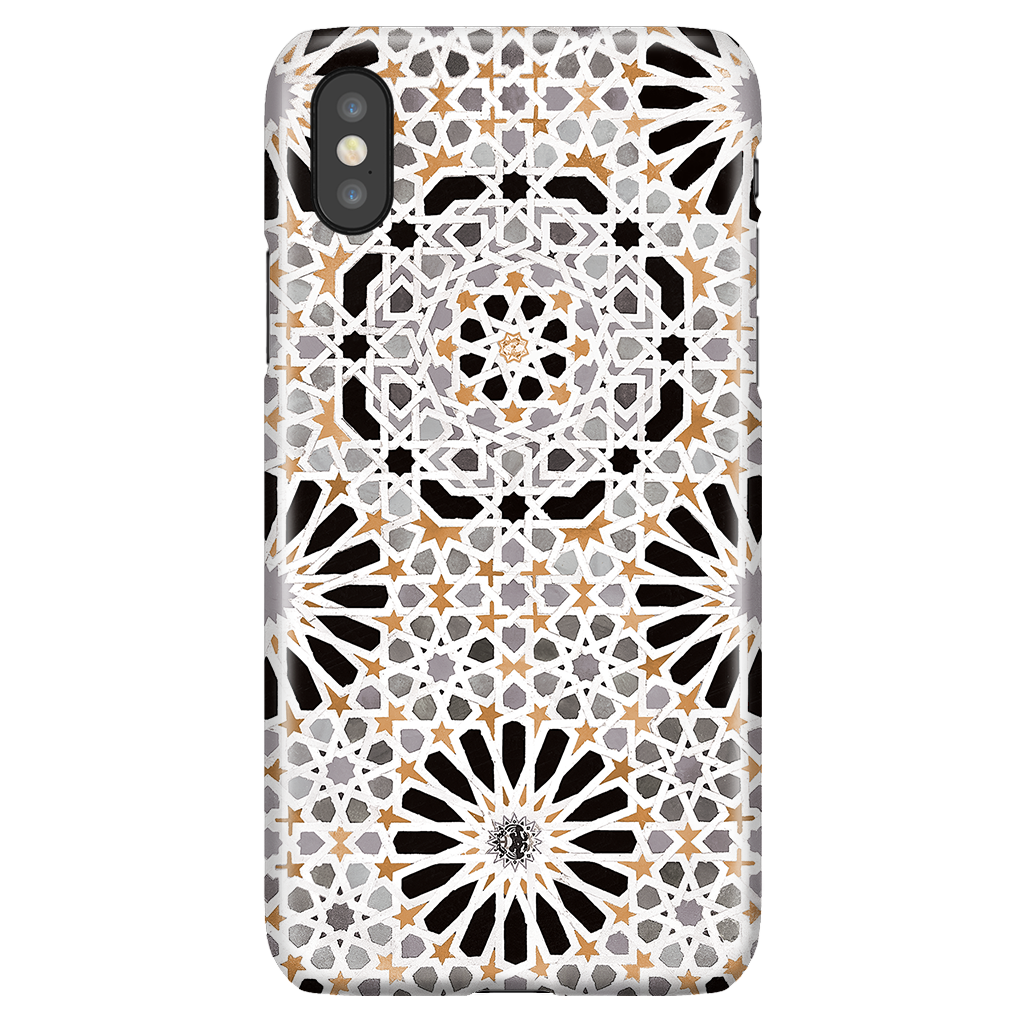 Alhambra Phone Case - Vintage Mosaic Case for iPhone X/XS