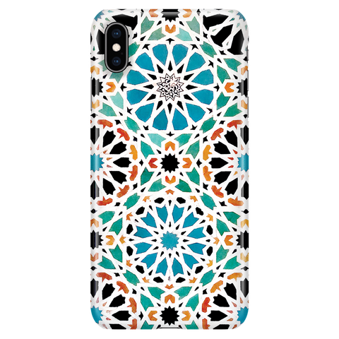 Alhambra Nasrid - Vintage Mosaic Phone Case for iPhone XS Max
