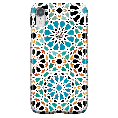 Alhambra Nasrid iPhone XR - Islam Arabic Geometric Phone Case