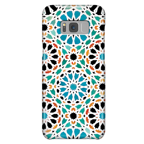 Alhambra Nasrid - Cute Mosaic Phone Case for Samsung Galaxy S8 Plus
