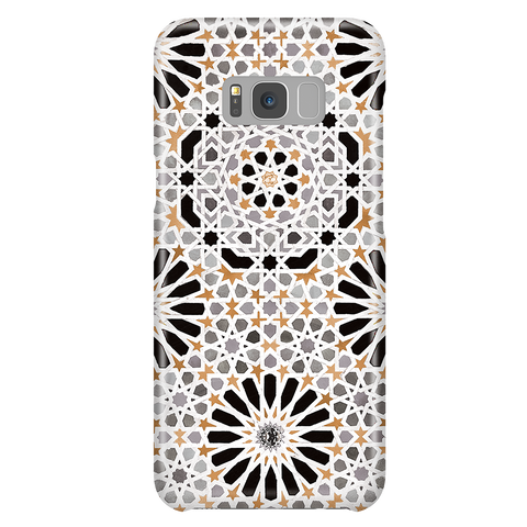Alhambra - Vintage Mosaic Phone Case for Samsung Galaxy S8 Plus