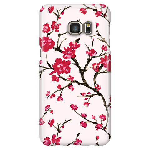 Cherry Blossom - Samsung Galaxy S6 Edge Plus - Cute Floral Phone Case