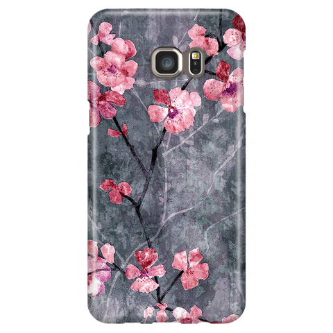 Cherry Blossom Slate - Samsung Galaxy S6 Edge Plus